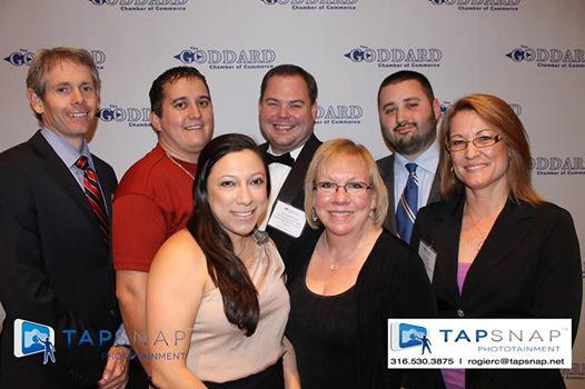 Chamber members pose at the 2014 Annual Mixer
